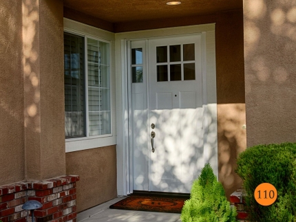 110-single-36x96-8-foot-tall-craftsman-entry-door-sidelight-plastpro-drs3c80g000-smooth-painted-white-6-lite-clear-glass-clearview-ret