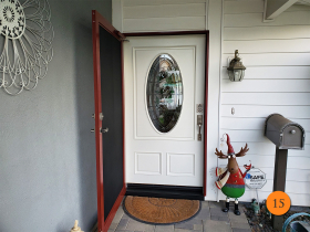 15-jeld-wen-aurora-42x80-classic-oval-with-lg-colored-glass-mahogany-skin-painted-swiss-coffee-installed-in-huntington-beach-ca