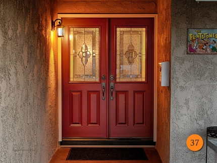 37-front-entry-door-classic-traditional-double-2-30x80-5-foot-wide-fiberglass-plastpro-drs60-smooth-painted-cranberry-half-lite-nouvea