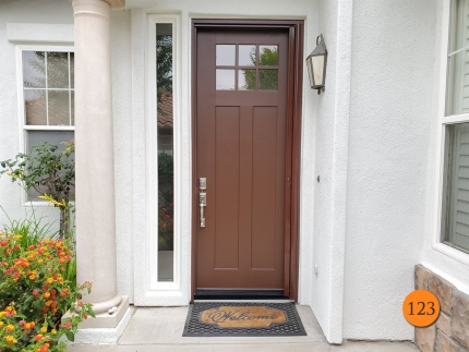 123-6x96-thermatru-s84816-fiberglass-entry-door-6-lite-sdl-clear-glass-with-lowe-smooth-skin-factory-painted-earthen-clearview-retractable-screen-installed-in-coto-de-caza-ca