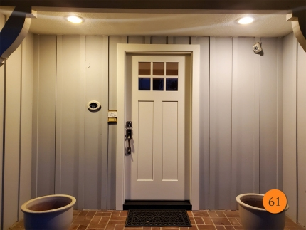 61-craftsman-36x80-therma-tru-fiberglass-entry-door-6-lite-sdl-with-clear-glass-shaker-style-panels-smooth-skin-factory-painted-alabaster-installed-in-north-tustin-ca