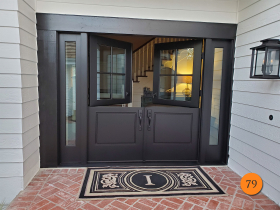 79-masonite-fiberglass-double-dutch-entry-door-system-with-sidelights-clear-glass-with-low-e-smooth-skin-factory-painted-black-installed-in-laguna-niguel-ca