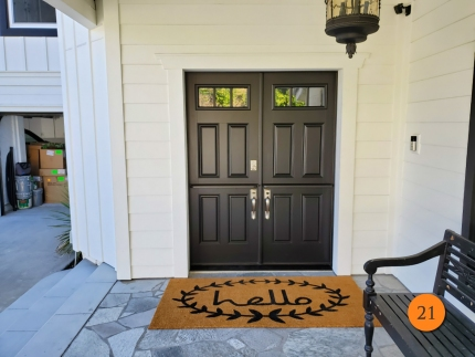 21-60x80-masonite-fiberglass-double-dutch-entry-door-3-lite-sdl-with-clear-glass-smooth-skin-factory-painted-black-installed-in-laguna-hills-ca