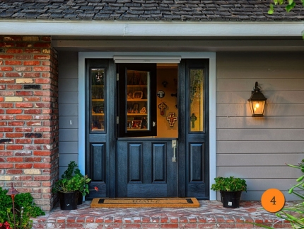 4-single-dutch-door-with-shelf-2-sidelights-plastpro-drm41-mahogany-painted-black-half-lite-clear-glass-clearview-retractable-screen-santa-ana-hennessey
