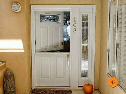 43-dutch-entry-door-shelf-36x80-5-foot-wide-1-sidelight-fiberglass-plastpro-drs60-smooth-painted-white-clearview-retractable-screen-huntington-beach-ca-wentworth