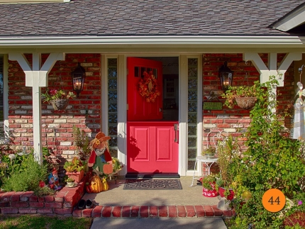 44-front-entry-door-classic-traditional-dutch-single-36x80-36-inch-wide-fiberglass-plastpro-drs60-smooth-painted-red-ink-4-lite-clear-glass-mission-viejo-ca-roberts
