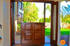 11-42-inch-wide-single-dutch-door-with-2-sidelights-jeld-wen-aurora-a1208-knotty-alder-stained-caramel-antiqued-distressed-rain-glass-mission-viejo-johnson