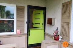 18-modern-36x80-masonite-fiberglass-dutch-entry-door-custom-cross-reed-privacy-glass-inserts-smooth-skin-factory-painted-asparagus-fern-installed-in-fullerton-ca