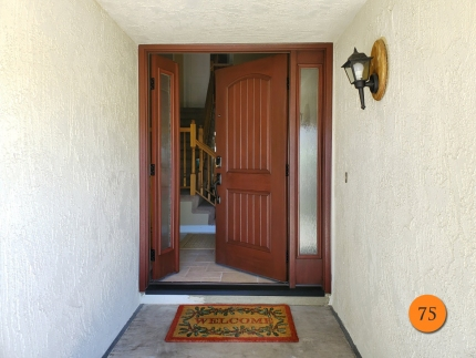 75-therma-tru-fiberglass-entry-door-system-with-operable-sidelight-chord-privacy-glass-mahogany-grain-factory-stained-mulberry-installed-in-anaheim-ca