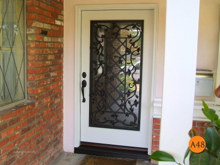 A48-wrought-iron-doors-decorative-forty-two-inch-entry-door-walnut-lmanna