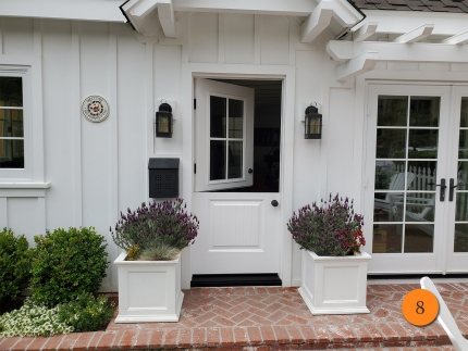 8-masonite-36x80-fiberglass-dutch-entry-door-4-lite-sdl-clear-glass-with-low-e-smooth-skin-factory-painted-white-installed-in-corona-del-mar-ca