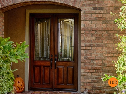 102-5-foot-wide-8-foot-tall-double-fiberglass-entry-door-jeld-wen-aurora-a-5144-mahogany-stained-chappo-antiqued-half-lite-glass-coto-