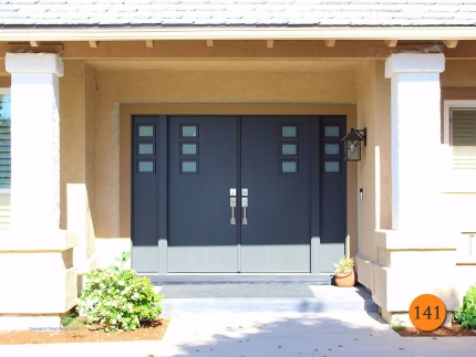 141-contemporary-modern-fiberglass-double-entry-door-3-lite-cluster-rancho-cucamonga-ca-smith