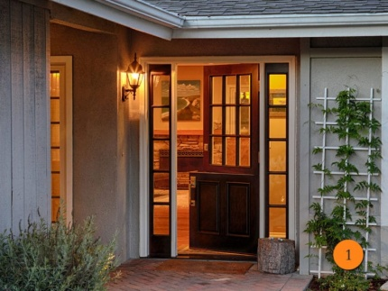 1-front-entry-door-classic-traditional-dutch-single-2-sidelights-fiberglass-jeld-wen-aurora-a5944-mahogany-stained-sable-9-lite-clear-
