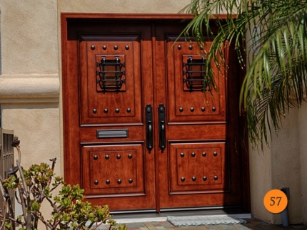 57-knotty-alder-rustic-double-entry-doors-speakeasy-wrought-iron-grille-2-36x80-jeld-wen-aurora-a1202-stained-caramel-antiqued-clear-g