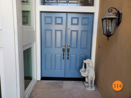 114-60x80-masonite-fiberglass-double-entry-door-smooth-skin-factory-painted-mica-creek-installed-in-huntington-beach-ca