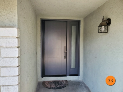 33-contemporary-36x80-masonite-fiberglass-entry-door-with-sidelight-pearl-privacy-glass-smooth-skin-factory-painted-celluloid-installed-in-irvine-ca
