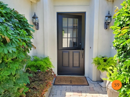 59-masonite-42x96-fiberglass-dutch-entry-door-9-lite-sdl-clear-glass-mahogany-textured-skin-factory-painted-black-installed-in-san-clemente-ca