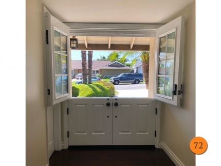 72-50x68-masonite-fiberglass-double-dutch-entry-door-6-lite-sdl-with-clear-glass-smooth-skin-factory-painted-white-installed-in-yorba-linda-ca