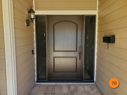 70-plastpro-42x80-fiberglass-entry-door-with-active-sidelights-rustic-textured-skin-factory-stained-moorish-teak-installed-in-huntington-beach-ca