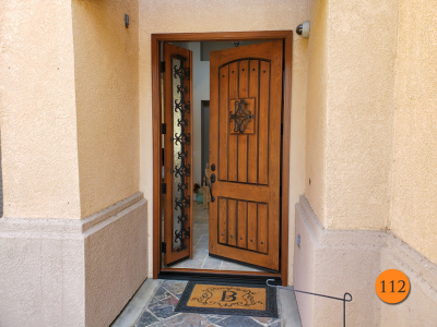 112-rustic-36x96-jeld-wen-aurora-fiberglass-entry-door-with-operable-sidelight-rain-privacy-glass-knotty-alder-grain-factory-stained-chappo-with-antiquing-in-la-verne-ca