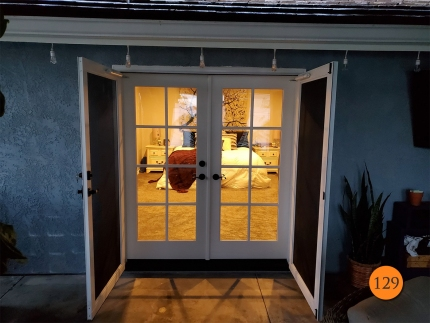 129-therma-tru-s1207-fiberglass-double-entry-door-8-lite-sdl-with-clear-glass-smooth-skin-factory-painted-extra-white-provia-duraguard-screens-installed-in-brea-ca