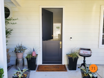 71-36x96-thermatru-s8120-fiberglass-dutch-entry-door-smooth-skin-factory-painted-tricorn-black-installed-in-ladera-ranch-ca