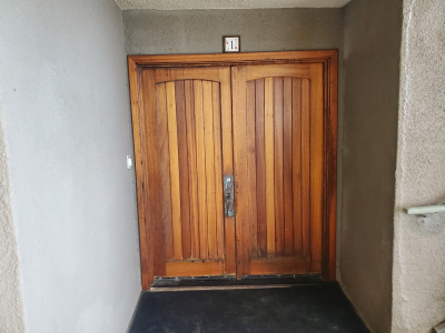 Wood entry door 4 before replaced by today's entry doors