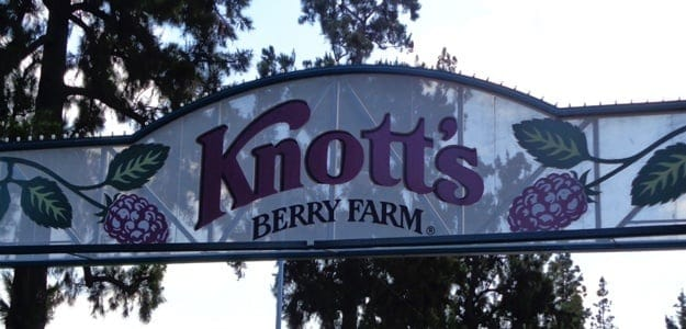 Knotts Berry Farm Sign