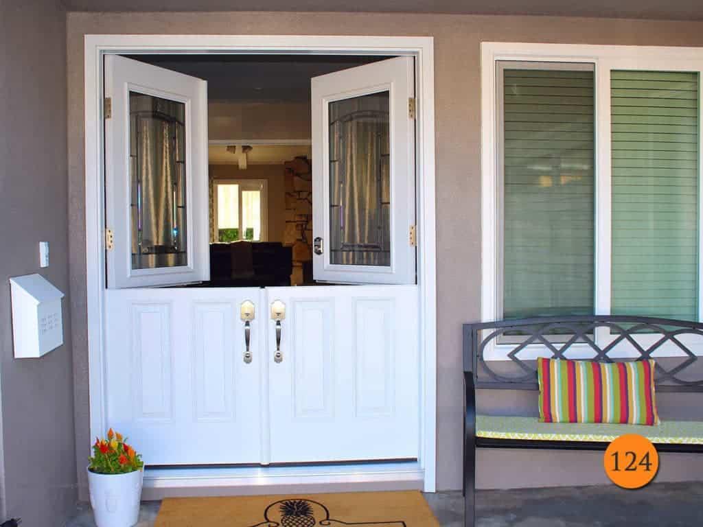 Double Dutch Door in White