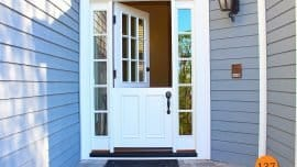 White Jeld Wen Dutch Door
