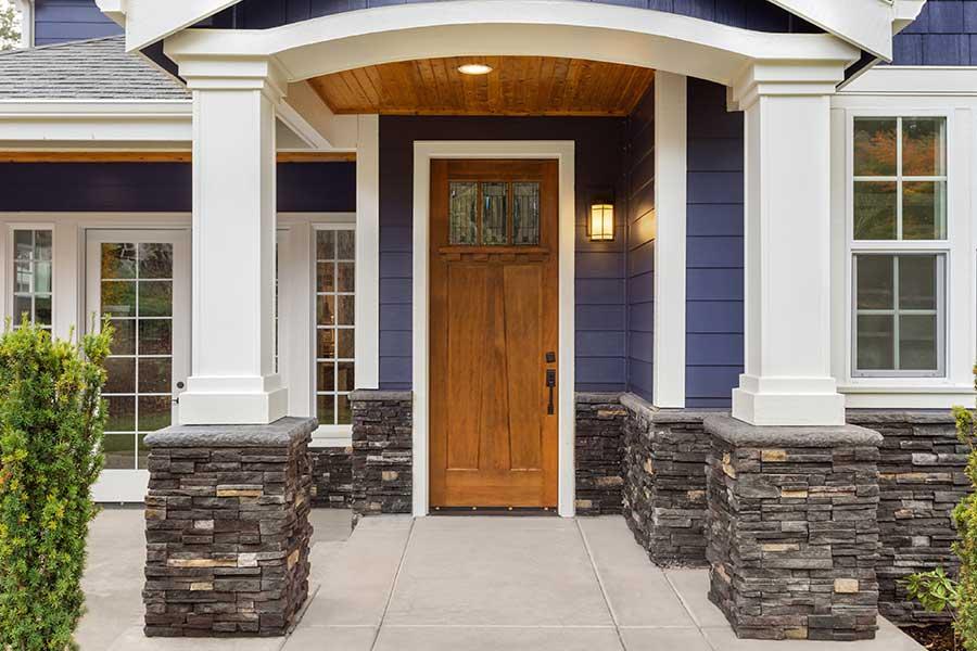 beautiful craftsman stile front door by todays entry doors