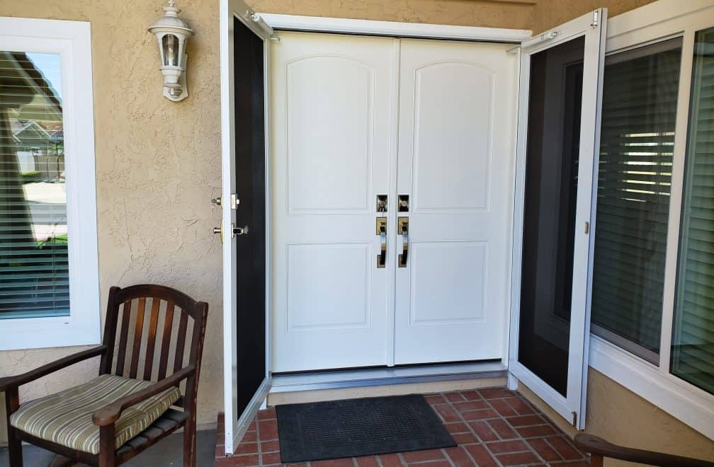 Screen Door Installation in Orange County