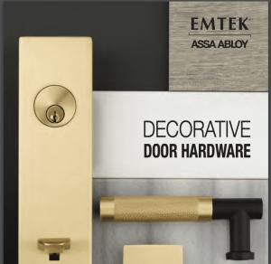 Emtek Entry Door Hardware Catalog Cover