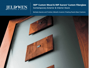 JW Aurora Line Catalog Cover