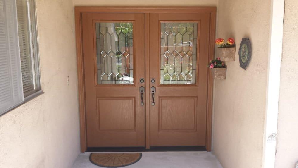 New door after fake door was replaced by today's entry doors