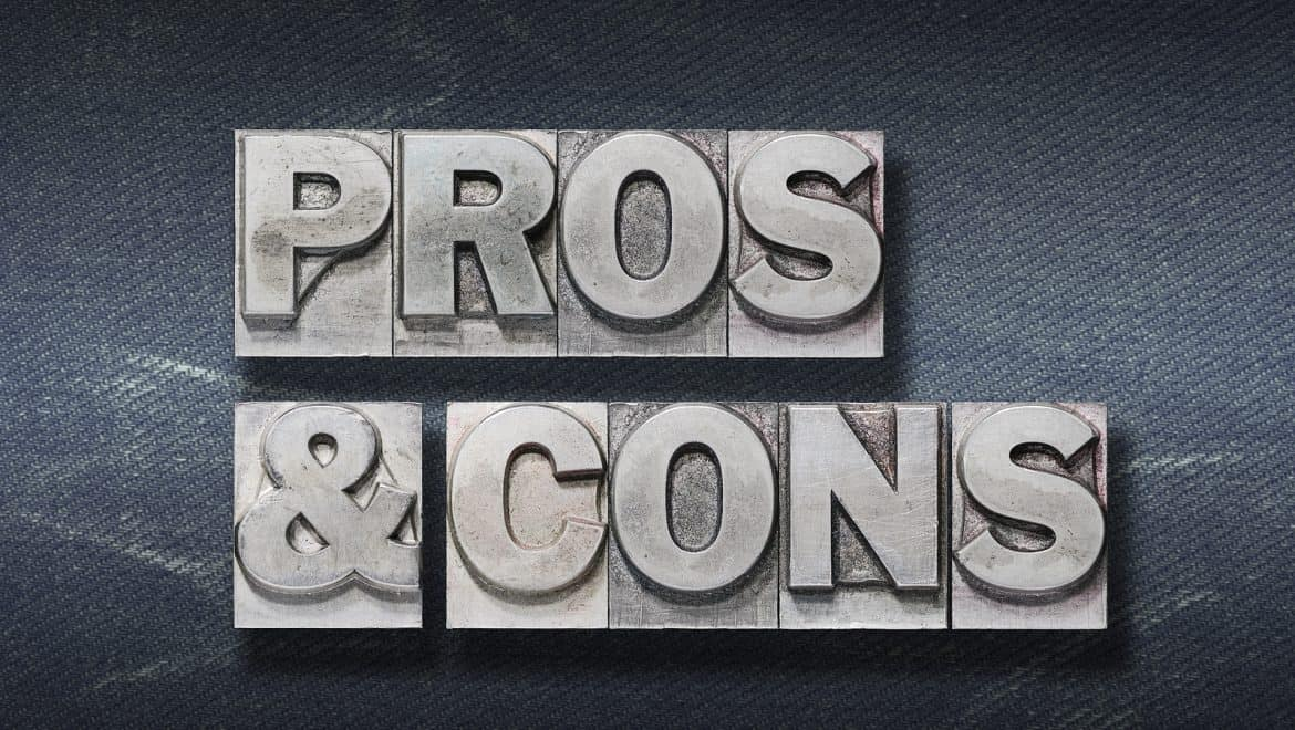 pros and cons phrase in reference to fiberglass versus steel doors