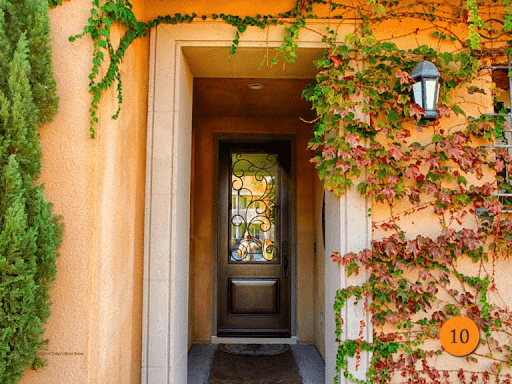beautiful door that makes a lasting impression