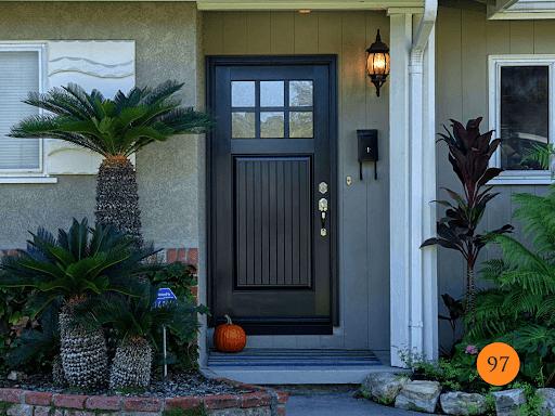 nice modern style door to improve energy efficiency
