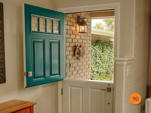 graceful dutch entry door