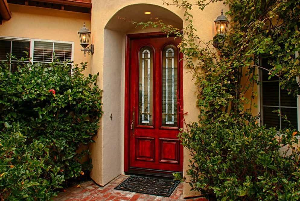 Beautiful 8 foot jeld wen door by today's entry doors