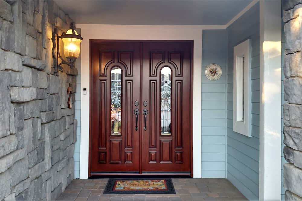 Another beautiful fiberglass door by today's entry doors