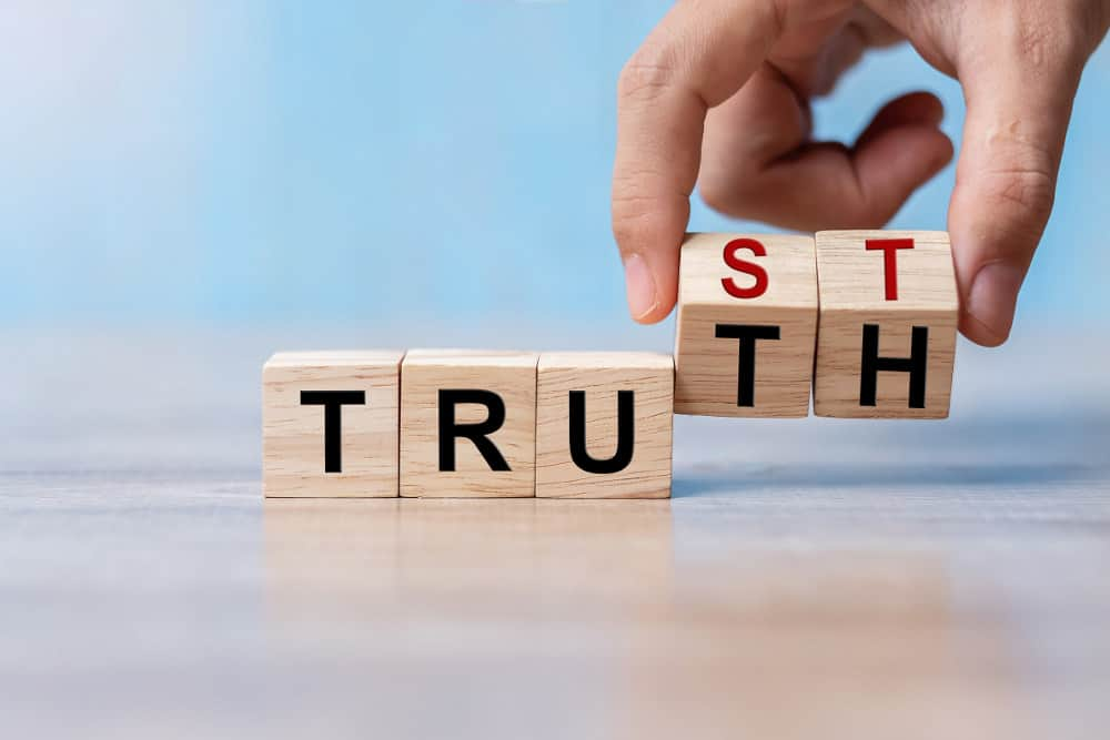 trust and truth on blocks about trusting today's entry doors