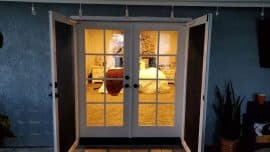 Example Entry Door That Could Use Privacy Glass