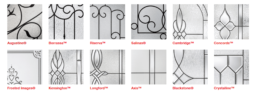 Different Examples of Therma Tru Privacy Glass