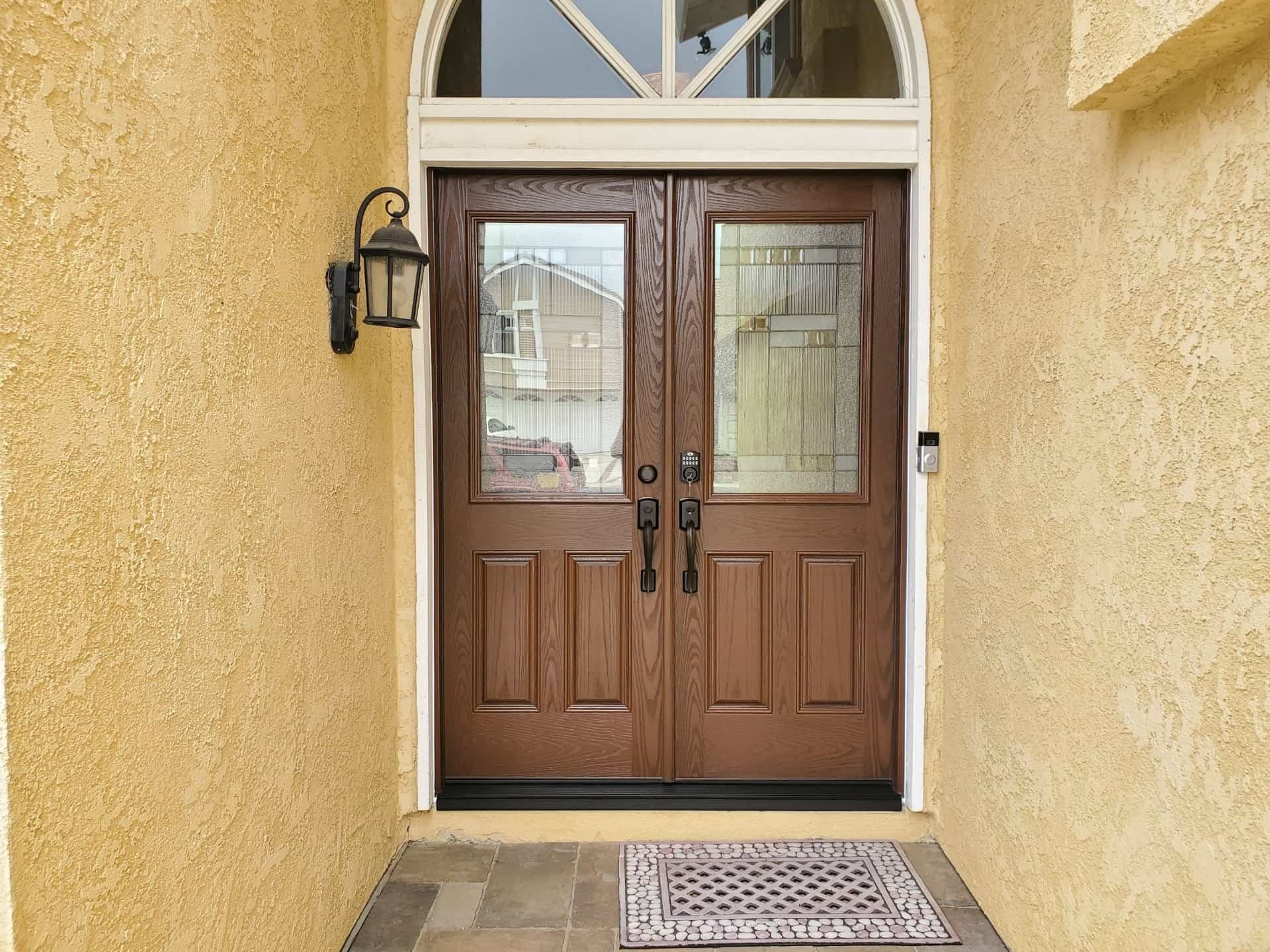 Entry Door Weatherstripping Example
