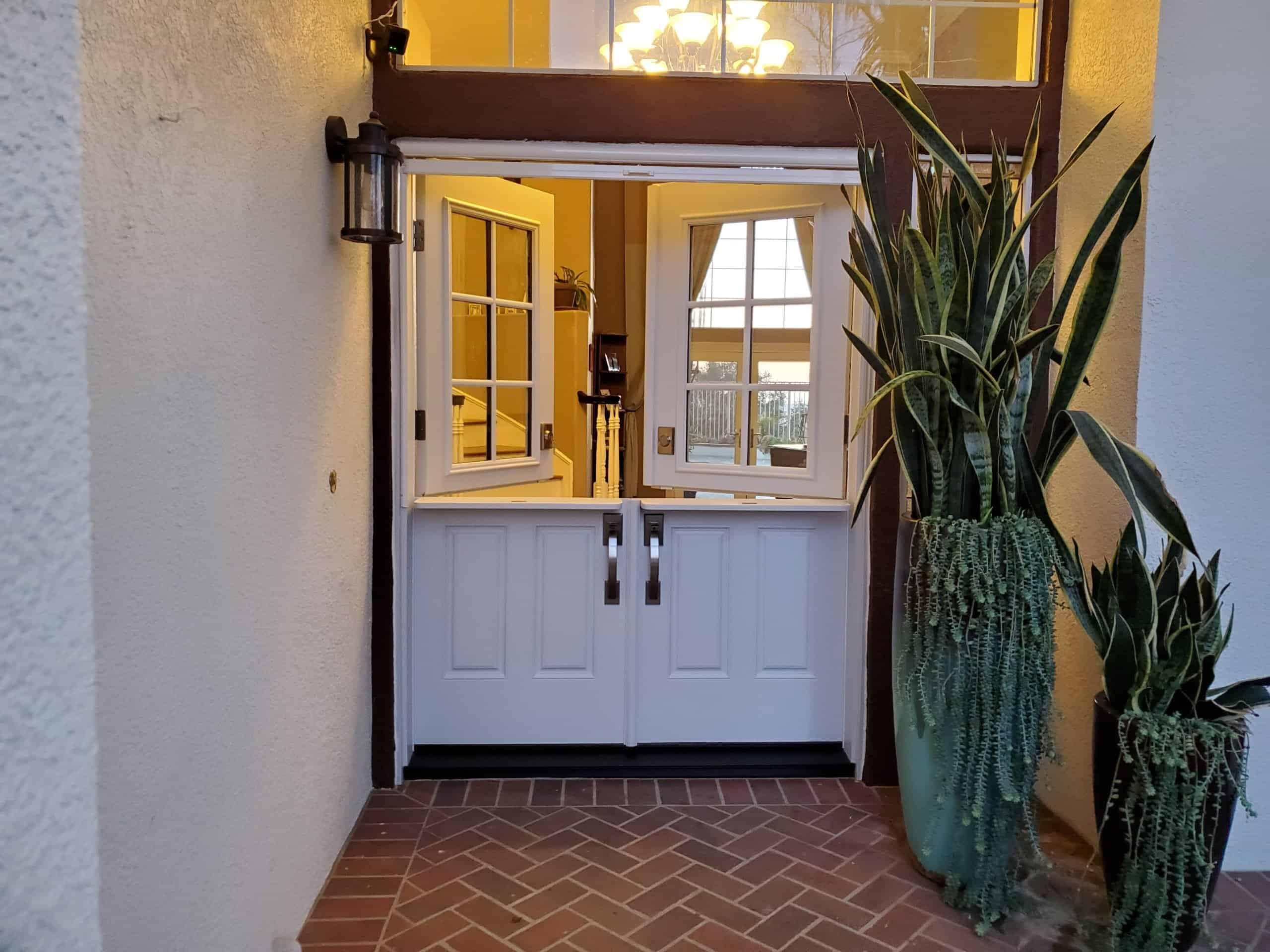 Double Front Door Orange County CA