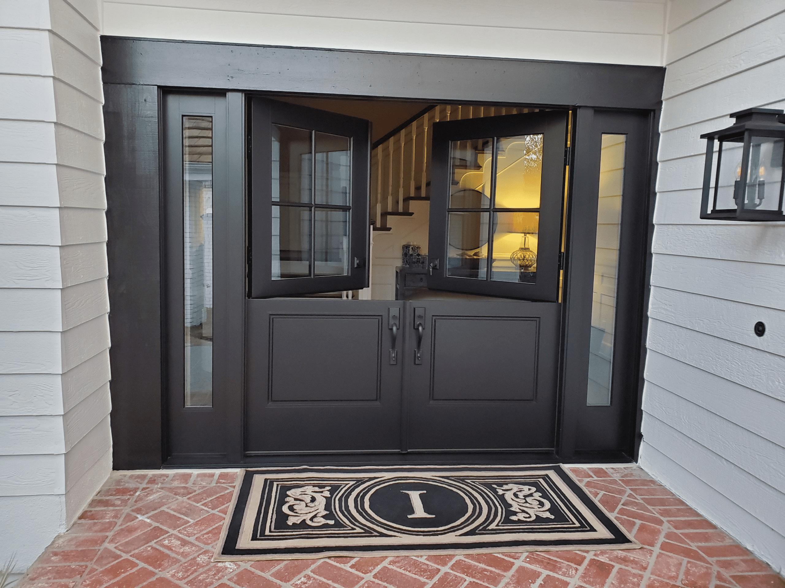 Secure Double Dutch Entry Door